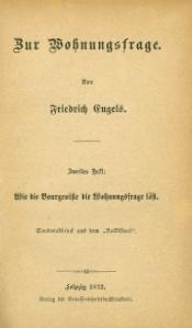 Bildergebnis für engels zur wohnungsfrage