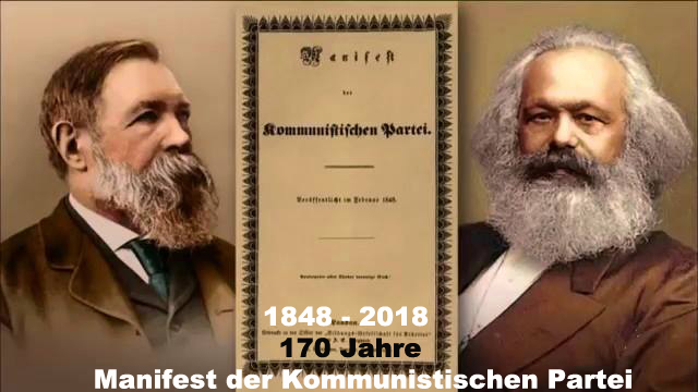 170 Jahre Manifest der KP