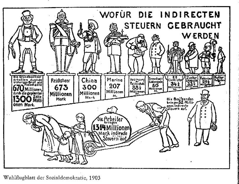 Steuern 04 - Wahlflugi SPD 1903