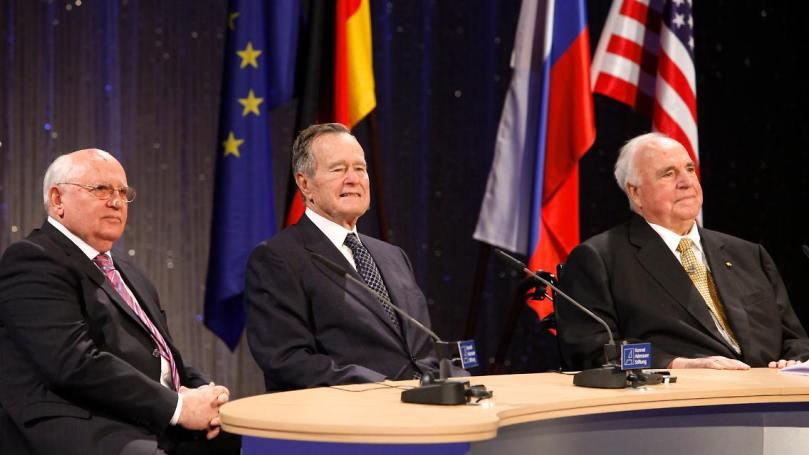 Bush Gorbatschow Kohl