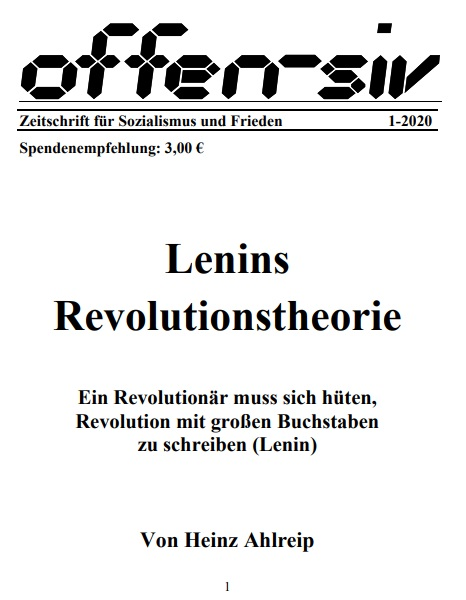 Lenins Revolutionstheorie